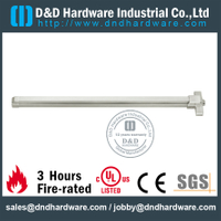 Grade 304 Fire Rated Push Panic Bar Emergency Exit Device for Exit Metal Doors with UL Listed-DDPD005