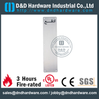 Stainless Steel 304 Arabic Push Plate 100x400mm for Office Wooden Doors with Polish -DDSP011