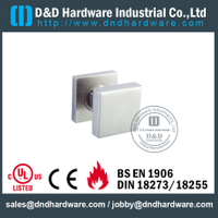Grade 316 Hollow Square Shape Internal Door Knob for Bathroom Doors-DDTH030