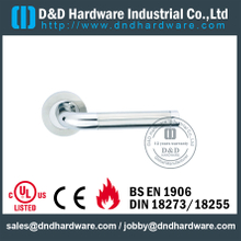 Stainless Steel 304 L Shape Tube Designer Lever Handle for Internal Hotel Doors-DDTH021