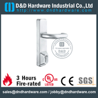European Escutcheon Lever Trim with Fire rated for Commercial Double Steel Door -DDPD015