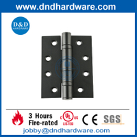 SS304 4x3x3.0mm Fire Rated Black Finish Door Hinge for Metal Door -DDSS001