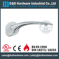 Stainless steel 316 exquisite solid door handle for Swing Door- DDSH182