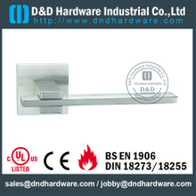 Stainless Steel 304 Solid Lever Handle for Interior Wooden Doors-DDSH077