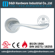 SSS304 classical durable solid lever handle for Metal Door- DDSH121
