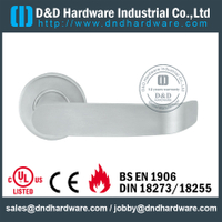 Stainless steel top grade 304 vertical door handle for Metal Door- DDSH202