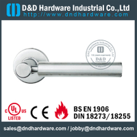 Stainless steel modern round door handle for Entrance Door - DDSH207