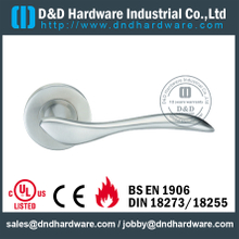 SSS316 durable twisty solid lever handle for Office Door- DDSH087
