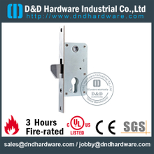Stainless steel hook mortise lock for Metal Door-DDML034