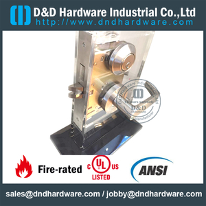 SS304 Durable ANSI Mortise Door Lock-DDAL14 F14