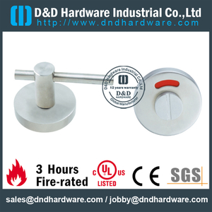 Stainless steel indicator with knob for Bathroom Door-DDIK007