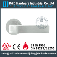 Stainless steel extraordinary casting door handle for Wood Door- DDSH198