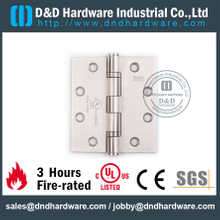 Stainless Steel 316 Fire Rated Door Hinge with UL Certificate for Hollow Metal Door-DDSS001-FR-4.5x4x3.0mm